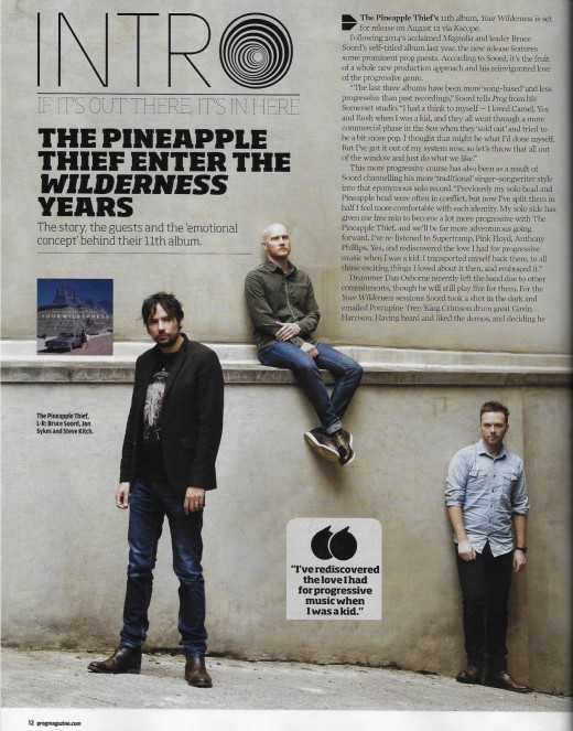 The Pineapple Thief - Prog Magazine